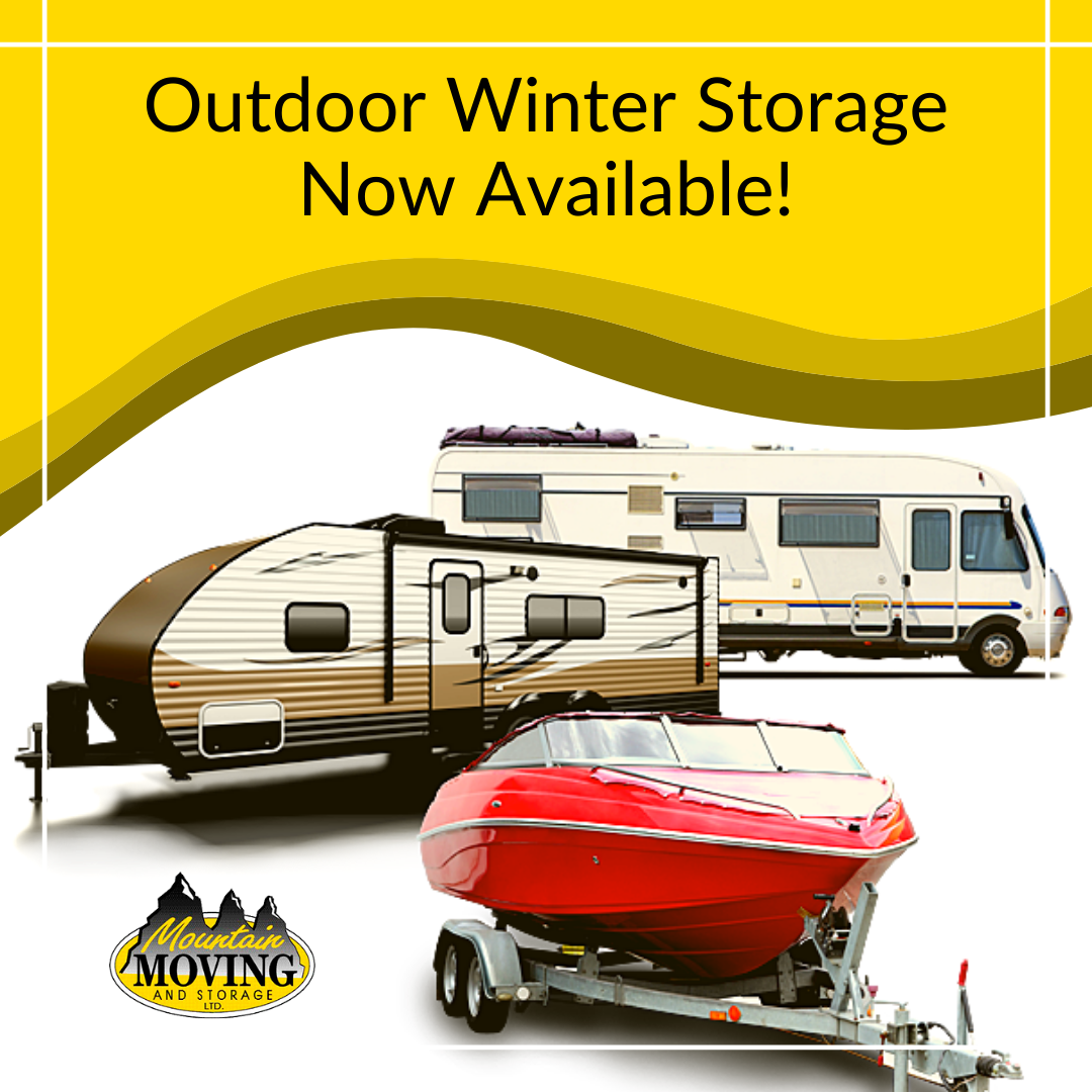 Outdoor Winter Storage Stayner
